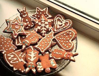 Cookie, Gingerbread, Christmas