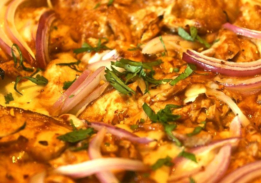 B.B.Q. Chicken Pizza